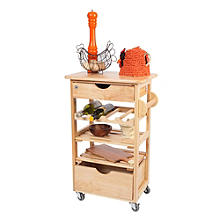 T&G Kitchen Compact Trolley