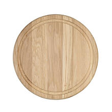 T&G Round Oak Serving Board