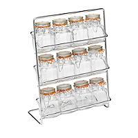 Hahn Pisa 12-Kilner Jar Spice Rack