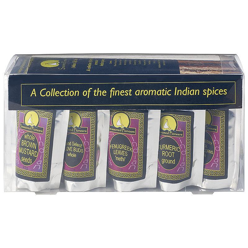 Seasoned Pioneers Indian Spice Set