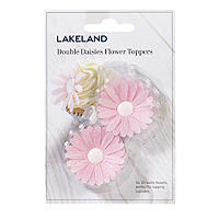 Pink Wafer Double Daisies
