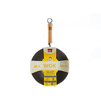 School of Wok 27cm Non-Stick Wok alt image 8