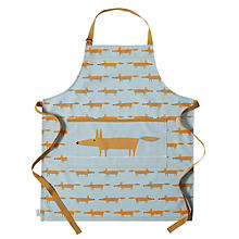 Dexam Scion Mr Fox Apron, Blue