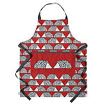 Dexam Scion Spike Apron, Red