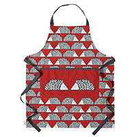 Bliss Home Scion Spike Apron, Red
