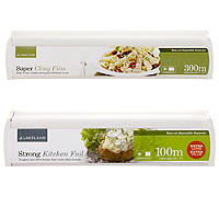 Cling Film and Kitchen Foil Bundle