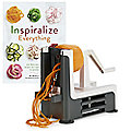 Vegetable Spiralizer and Inspiralize Everything Book Bundle