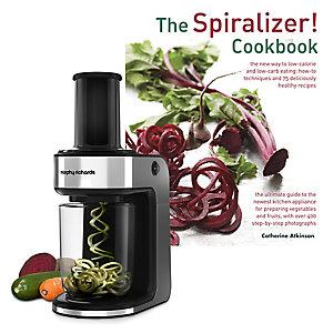 Morphy Richards Spiralizer Express and Spiralizer Cookbook Bundle
