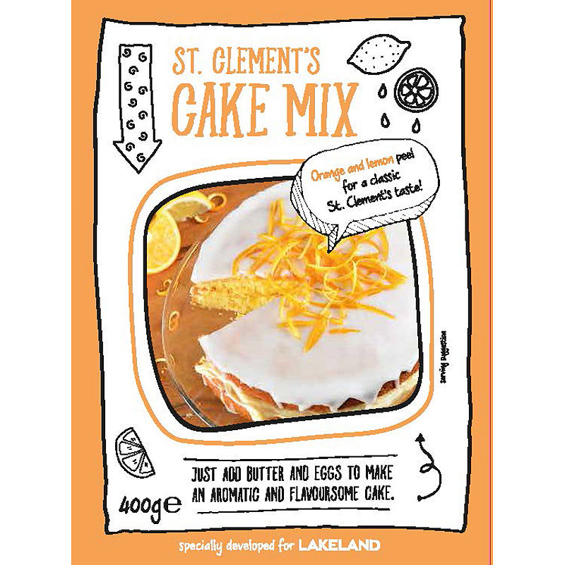 St Clement's Cake Mix
