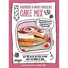 Lakeland Raspberry & White Chocolate Cake Mix