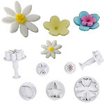 22-Piece Floral Icing Cutter Set
