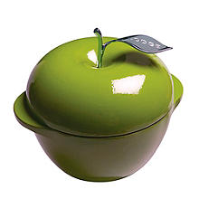 Lodge Cast Iron Apple Dutch Oven Green