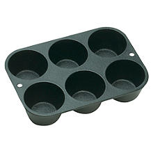 Lodge Cast Iron 6 Cup Muffin Pan