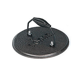 Lodge Cast Iron Grill Press 19cm alt image 1