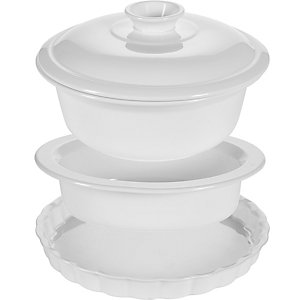 Dura 230 Casserole Flan and Pie Dish Bundle
