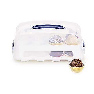 Mini Cupcake Carrier - Holds 24 Mini Cupcakes alt image 1