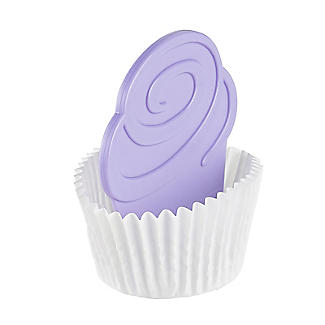 Two Tone Cupcake Divider Inserts 6 Pack