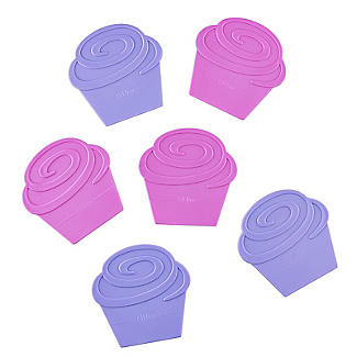 Two Tone Cupcake Divider Inserts 6 Pack alt image 4
