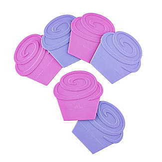 Two Tone Cupcake Divider Inserts 6 Pack alt image 6