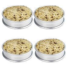 Ringe für kleine Teekuchen (Crumpets), 4Stück