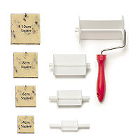 Square Rolling Cutter Set - 4 Sizes