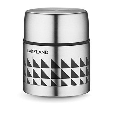 Lakeland Stainless Steel Thermal Vacuum Food Flask 500ml