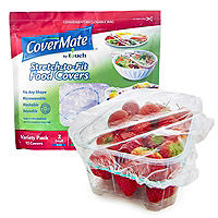 Covermate 12 Assorted Elasticated Food Covers – S M L and XL