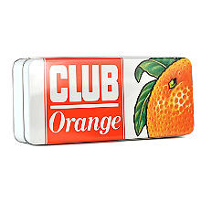 Jacob's Orange Club Bar Biscuit Tin