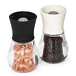 Classic Salt & Pepper Mills with Himalayan Salt and Tellicherry Pepper