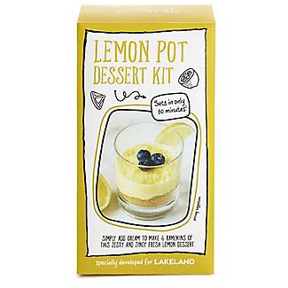Just Add Cream Lemon Pot Dessert Kit 60g