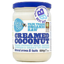 Lucy Bee Organic Fair Trade Creamed Coconut 500g