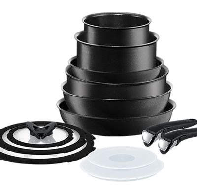 tefal ingenio induction 13 piece pan set. Black Bedroom Furniture Sets. Home Design Ideas