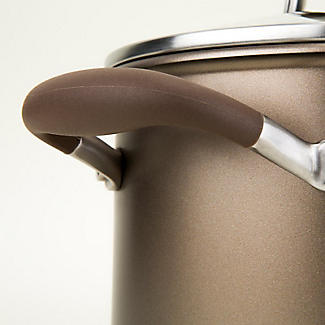 Anolon Advanced 3-Piece Glass-Lidded Saucepan Set Umber alt image 10