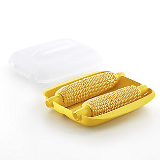 Lékué Microwave Cookware Corn-On-The-Cob Sweetcorn Cooker