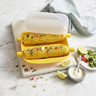 Lékué Microwave Cookware Corn-On-The-Cob Sweetcorn Cooker alt image 2