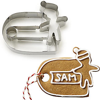 Christmas Gift Tag Cookie Cutter