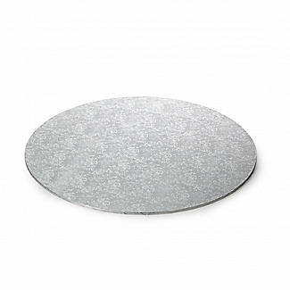 Extra Strong 30cm Silver Cake Board - Round