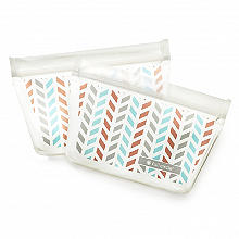 Full Circle Reusable Snack Bags 2 Pack