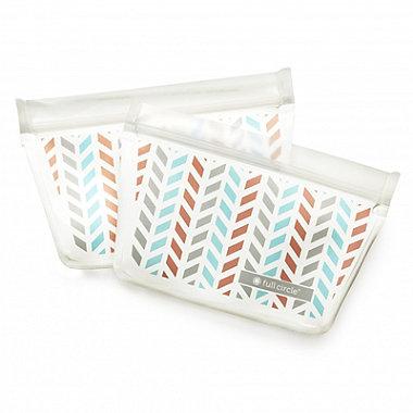 Full Circle Reusable Snack Bags 2 Pack