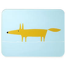 Scion Mr Fox Kitchen Worktop Saver Blue