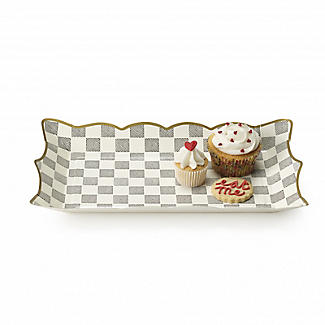 Truly Alice Food Serving Platters Set of 4