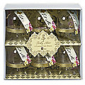 Truly Alice Individual Cake Presentation Domes Set of 6