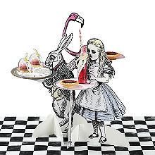 Truly Alice Süßwarenständer mit Charakteren, 3er-Set