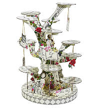 Truly Alice Tree-Shaped 3D Tiered Cake Stand