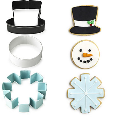 Wilton Snowman Cookie Cutter Set