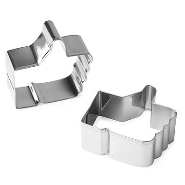 Lakeland Thumbs Up Cookie Cutter Set