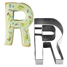 Letter R Alphabet Stainless Steel Cookie Cutter