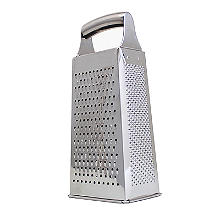 Lakeland 4-Sided Slice and Grate Stainless Steel Box Grater