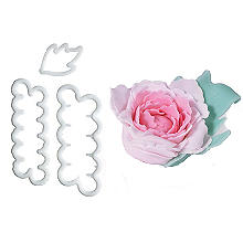 Easy Peony Petal and Leaf Cutter Set