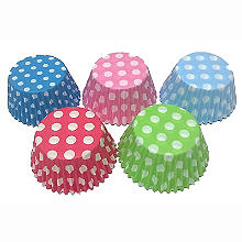 Lakeland Polka Dot Cupcake Cases 60 Pack